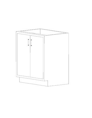 Swinging Double Door Cabinets