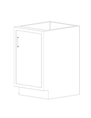 Swinging Right Door Cabinets