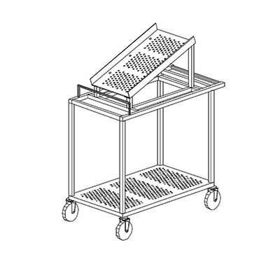 Particle Counter Cart