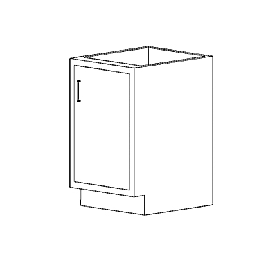 Sitting Height Cabinets