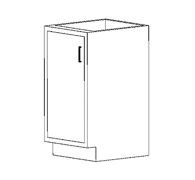 Standing Height Cabinets